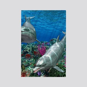 oceanworld_368_V_F Rectangle Magnet