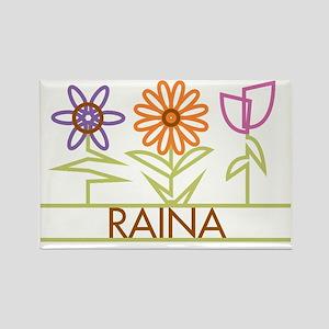 RAINA-cute-flowers Rectangle Magnet