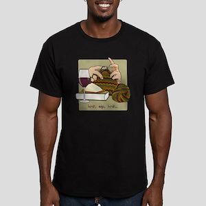 knitsip2 Men's Fitted T-Shirt (dark)