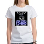 Look Whos Coming in March Women's T-Shirt