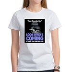 Look Whos Coming in April Women's T-Shirt