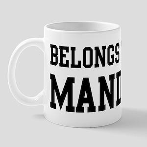 Belongs to Mandy Mug