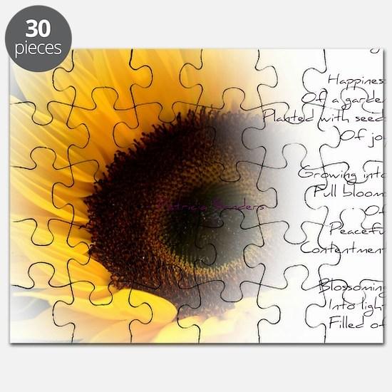 Sunflower Dream Poem Puzzle