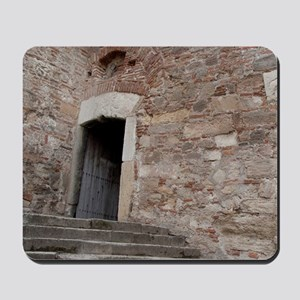 Port city of Vidin. Baba Vida fort built Mousepad