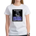 Look Whos Coming in August Women's T-Shirt