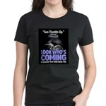 Look Whos Coming in August Women's Dark T-Shirt