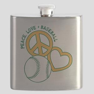 P,L,Baseball, GY Flask