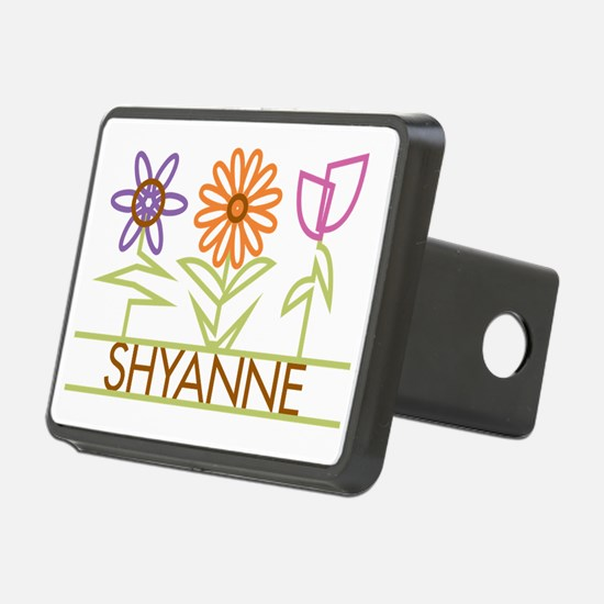 SHYANNE-cute-flowers Hitch Cover