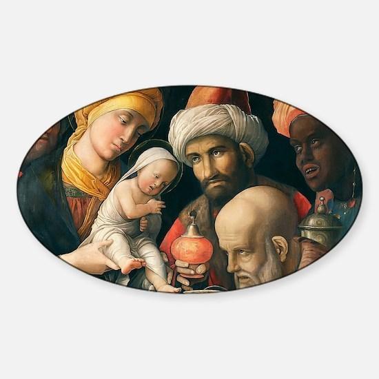 nativity101 Sticker (Oval)