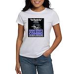 Look Whos Coming in October Women's T-Shirt