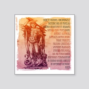 "stmichael_latin Square Sticker 3"" x 3"""