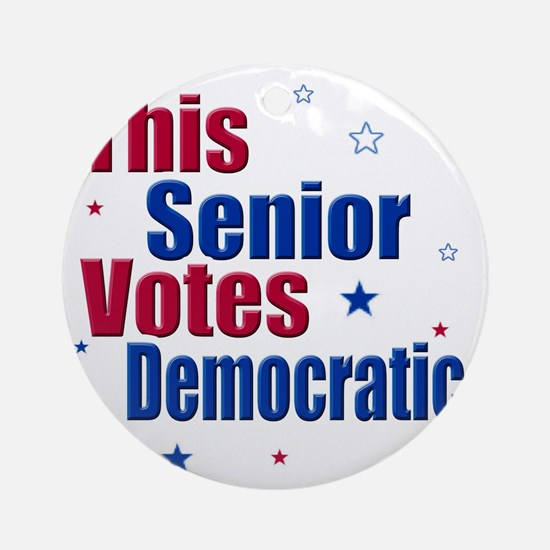 seniorvotes cp Round Ornament