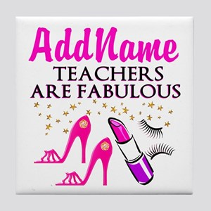 CUSTOMIZE TEACHER Tile Coaster