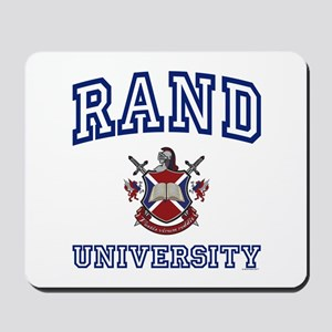 RAND University Mousepad