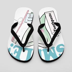 09a6ed2c7793f5 Dental Funny Flip Flops - CafePress