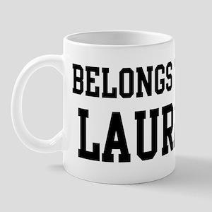 Belongs to Laura Mug