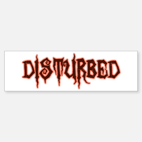 Disturbed Bumper Bumper Bumper Sticker