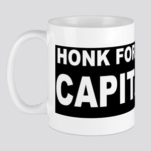 Anti Obama Honk FOR CAP D Mug
