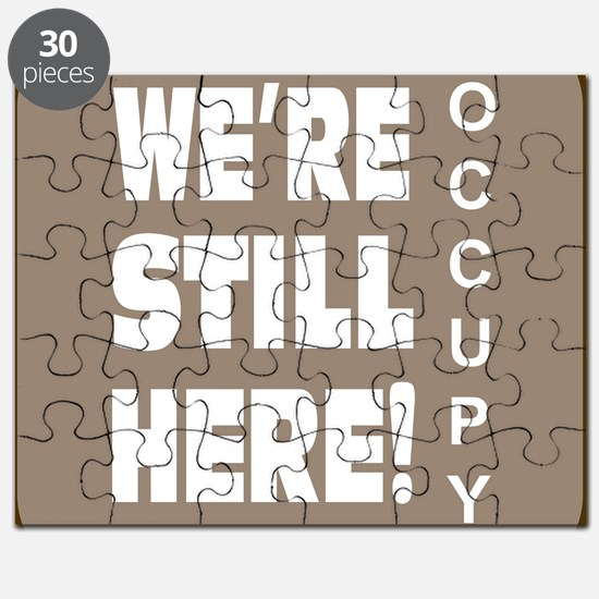 Were still here sec. occupy wall street sho Puzzle