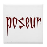 Poseur Tile Coaster
