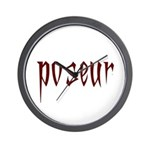 Poseur Wall Clock