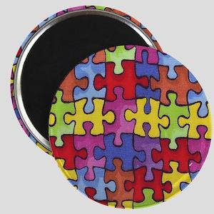 6.57_AUTISM-CURE-PUZZLE Magnet