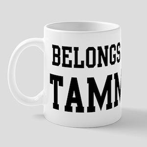 Belongs to Tammy Mug