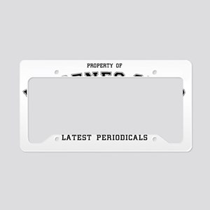 diogenesclub_smalls License Plate Holder