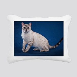Bengal6 Rectangular Canvas Pillow