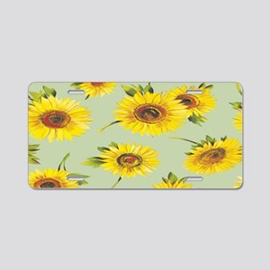 sunflower green Aluminum License Plate