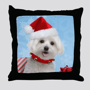 maltesekids Throw Pillow