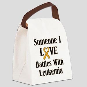 leukemia01 Canvas Lunch Bag