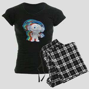 Jamming Rainbow Women's Dark Pajamas
