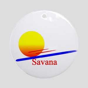 Savana Ornament (Round)