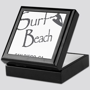 Surf Board Keepsake Box