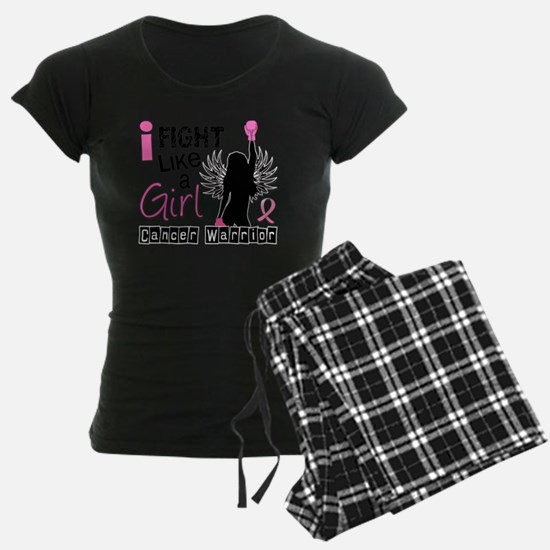 - Fight Like A Girl Breast C Pajamas