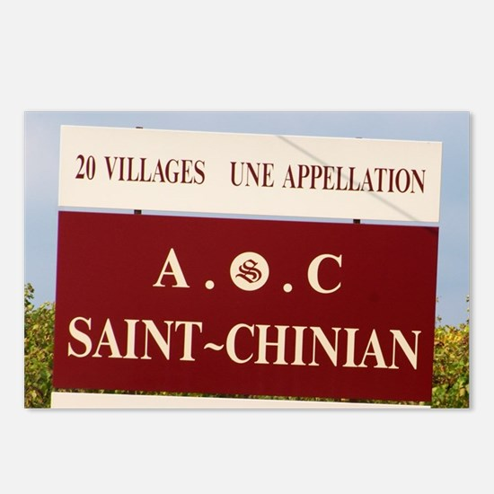 St Chinian. Languedoc. Fr Postcards (Package of 8)