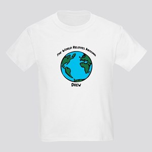 Revolves around Drew Kids T-Shirt