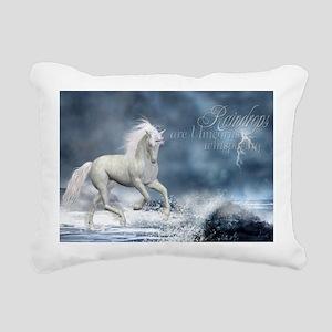 wall_pell_14_x_22_h Rectangular Canvas Pillow