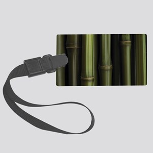 bamboo clutch Large Luggage Tag