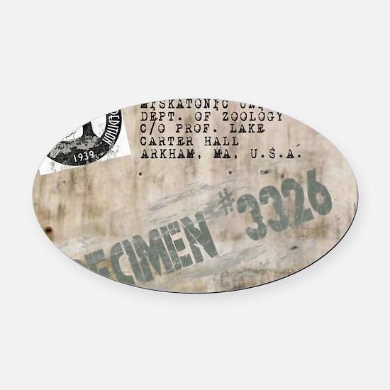 Specimen 3326 Oval Car Magnet