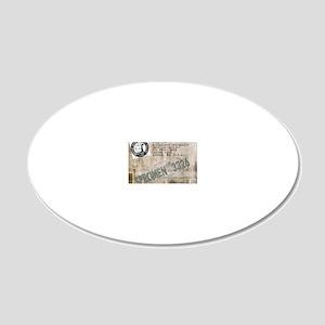 Specimen 3326 20x12 Oval Wall Decal