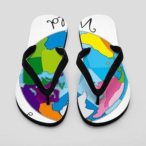 Quilt World Flip Flops