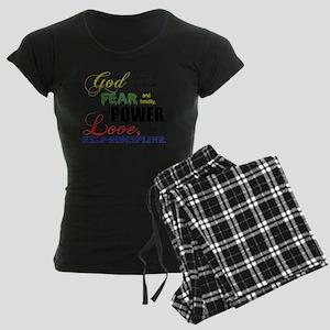 powerLove Women's Dark Pajamas
