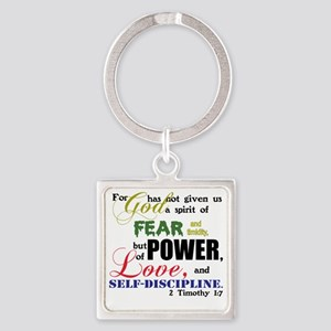 powerLove Square Keychain