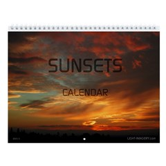 Sunsets Wall Calendar