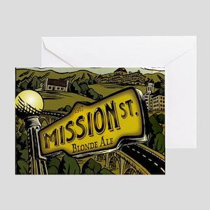 missionback Greeting Card