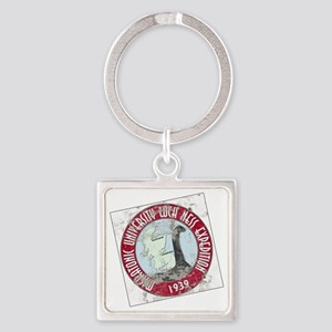 MU Loch Ness Field Label Color-m Square Keychain
