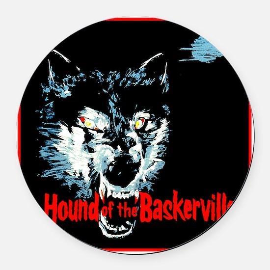 houndofbaskervilles_blank1500 Round Car Magnet
