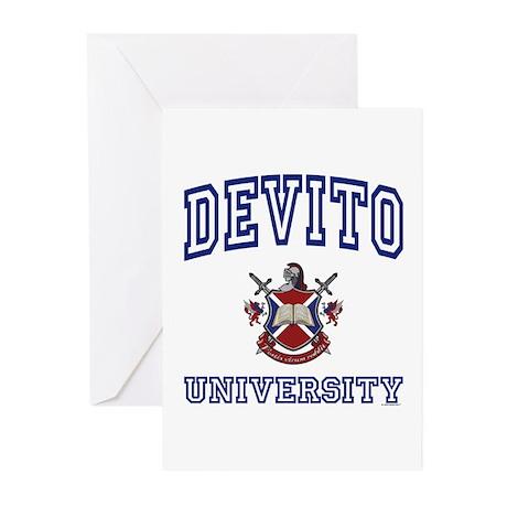 DEVITO University Greeting Cards (Pk of 10)